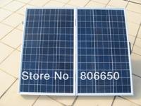 120 Watt 18V Poly  portable Folding solar panel  for  12v battery,  RV boat,car , free shipping