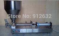 0-500ML Semi-automatic Pneumatic ointment filling machine,Ketchup Peanut butter filling machine