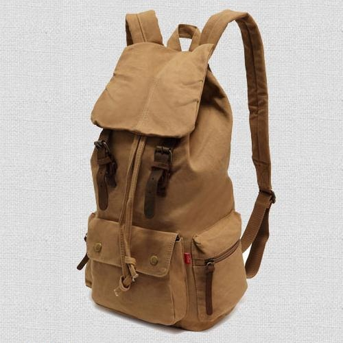 latest stylish 2015 fashion World popular trend men women simple cheap drawstring travel Durable shoulder Campus canvas Backpack(China (Mainland))