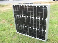80Watt 12V portable Folding solar panel mono UK stock no tax no duty