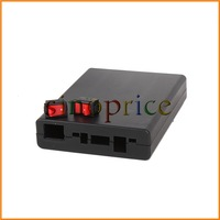 Plastic DIY Power Supply Storage Case Box Holder for 4pcs 18650 Battery with Switch Free Shipping