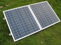 80Watt 12V poly portable Folding solar panel  for  12v battery AU stock no tax no duty
