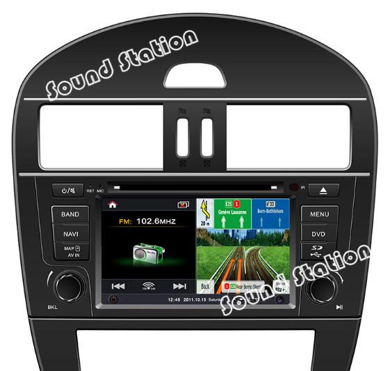 For Nissan For Tiida Auto Car DVD Radio Stereo GPS Navigation Multimedia System Head Unit Autoradio Media Audio Video Player(China (Mainland))