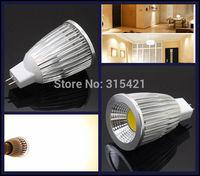 300Pcs/lot MR16 LED spotlight bulb cob bulb lamp High brightness bulbs 9w DC12V Cold white/warm white L28
