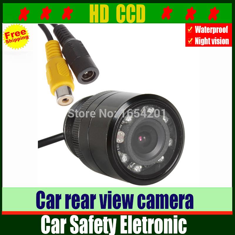 28 mm CCD Car Rear View Camera Night Vision Rearview Wide Angle Waterproof Universal Auto Parking Camera,Reverse Backup Camera(China (Mainland))