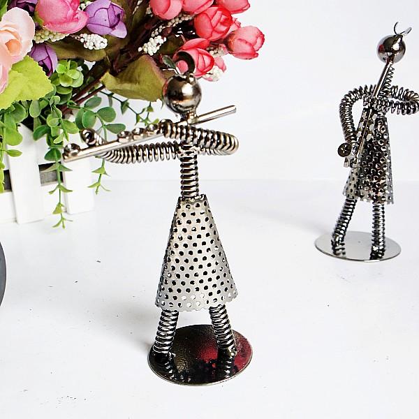 Iron female music band novelty decoration set birthday gift(China (Mainland))