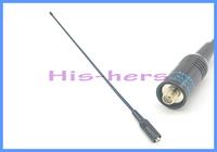 10PC NA-771 NA771 SMA Female Dual Band Flexible Antenna 144/430MHz Two Way Radio for walkie talkie Kenwood BAOFENG UV-5R BF-888S