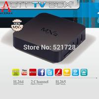 1pc Original ACEMAX MXQ Amlogic S805 Quad Core XBMC KODI TV Box Android 4.4 Kitkat H.265 WifiMiracast Airplay HDMI 1G RAM 8G ROM