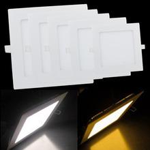 15w 18w 21w helle Platz led-lampe versenkt deckenplatte downlight downlight warmweiß kaltweiß lemonbest marke(China (Mainland))