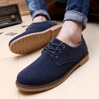 2015 new men's Korean wild shoes low shoes Suede high-quality men's shoes tide shoes