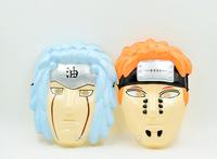 2015 New Arrival 2PCS Naruto Cosplay Mask Pein/Jiraiya  Cool Halloween Carnival Party Mask Hot Sales
