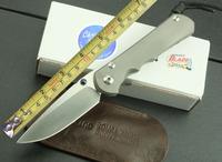 100% дикого кабана бренда strider sng стиль d2 высокой скорости стальное лезвие титана сплав + g10 обрабатывать складной нож