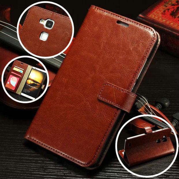 Huawei Ascend Mate 7 Case ,Luxury Leather Flip Wallet Back Case For Huawei Ascend Mate 7 Mate7 Pouch Stand Capa Celular Cover(China (Mainland))