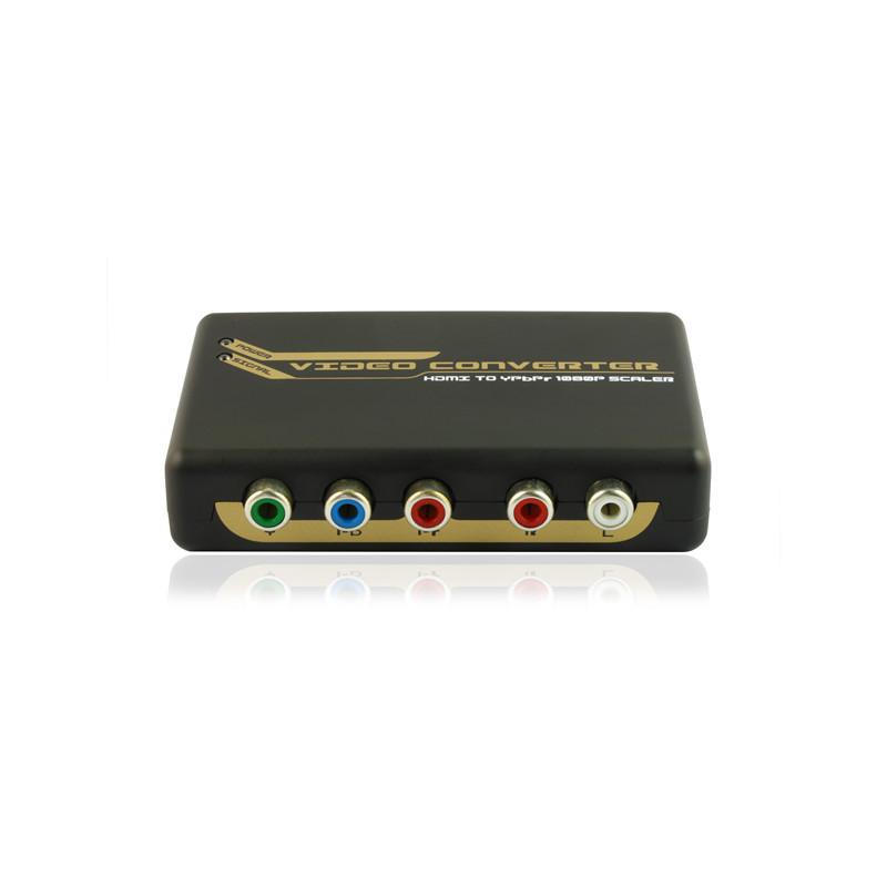 HDMI to RGB + R/L Converter Upscaler (720P/1080P)(China (Mainland))