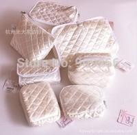 0 deals in Japan Cosmetic GJ-1050 Ribenyuandan premium satin quilted cosmetic enjoy