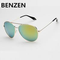 2015 Women Sunglasses  Polarized Aviator Sunglasses Unisex Female Sun Glasses Oculos De Sol Feminino  With Case 6004