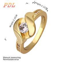 PDL Brand wedding ring unite trend tungsten ring American popular 18k gold ring