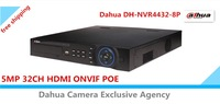 Dahua DH-NVR4432-8P 5MP 32CH NVR HDMI network video recorder ONVIF with 8 POE economical Dahua NVR free shipping