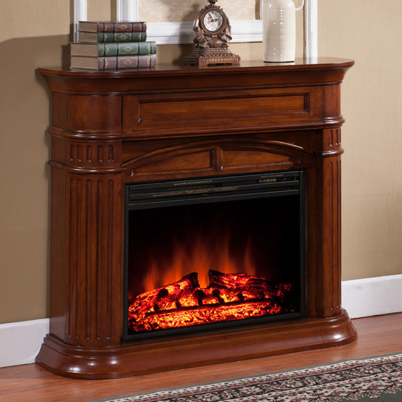 American country porch wood fireplace wood fireplace mantel American Continental fireplace decoration cabinet(China (Mainland))