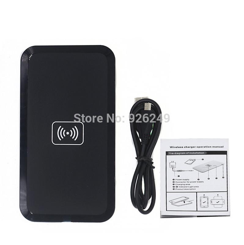 QI Wireless Charging Black qi Wireless Charger Pad for Samsung S3 I9300 S4 S5 N7100 LG E960 Google Nexus 4 2G Nokia Lumia 920(China (Mainland))
