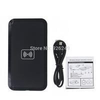 QI Wireless Charging Black qi Wireless Charger Pad for Samsung S3 I9300 S4 S5 N7100 LG E960 Google Nexus 4 2G Nokia Lumia 920