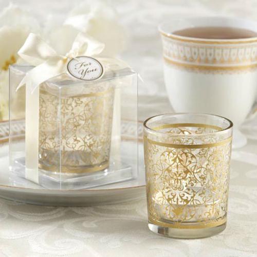 1 шт. золотой свеча держатели свадьба украшение свадьба сувениры и подарки свадьба сувениры свадьба подарки для гостей