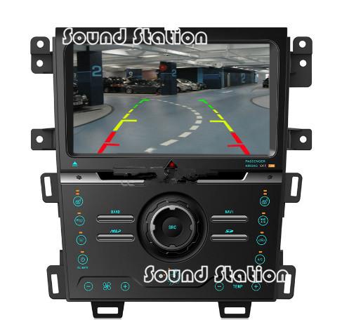 For Ford Edge 2011 2012 2013 2014 Car DVD Radio GPS Navigation Multimedia Autoradio Head Unit Media Center Audio Video Player(China (Mainland))