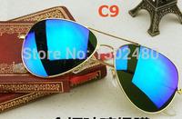 Free shipping Fashion Classic Vintage Metal RB 3025 3026 Aviator Driving Mirror Gradient Sunglasses Oculos Original Wholesale