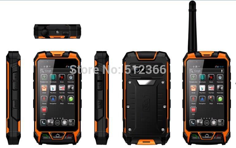 2015 new GPS intercom phone waterpoof walkie talkie phone portable 3G mobile phone(China (Mainland))