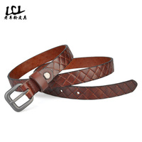 2015 new Women's Belts real brand luxury 100% genuine leather famous desiger high quality Ms. thin models fashion woman belt
