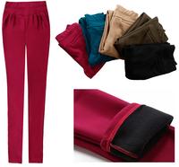 2015 women trousers harem pants autumn winter clothing