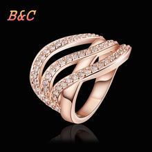 B C Brand rings for women exaggeration big rings for women for women white tungsten ring