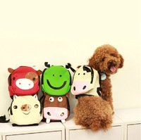 Canvas Lovely Frog Shop Pet Dog Bags Backpacks For Small Dogs 2015 New Supplies Pet Products For Animals