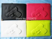 trend pistol handbags new arrival Vlieger ampvandam grenades bag 3D cartoon bags PU leather bags woman gun clutch bag