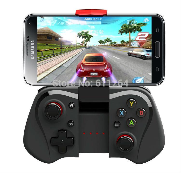 DHL 10pcs/lot IPEGA PG-9033 Multimedia Wireless Bluetooth Game Controller Joystick For iOS/Android Tv Box Phone&Windows PC(China (Mainland))