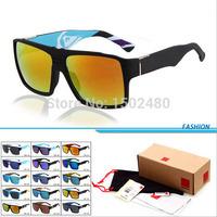 2015 New Fashion QS Square Surfing Sunglasses for Men Women Brand Designer Sun glasses female Oculos de so with Original box