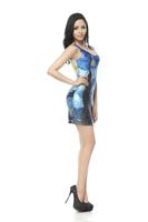 2015 new hot sale  free size Fashion party Vest dress women fashion summer dress sexy sleeveless