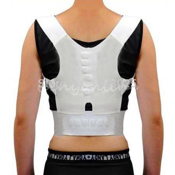 Adjustable Magnetic Therapy Posture Support Corrector Correction Body Back Pain Lumbar Belt Shoulder Brace Shoulder support(China (Mainland))