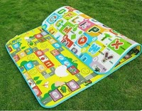 New Doulble-Site Baby kid Play Mat Meter Fruit Letters And Happy Farm Child Beach Crawl Mat Picnic Carpet Baby Crawling Mat Free