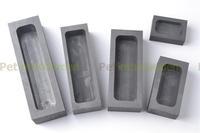 Graphite Casting Ingot Mold Gold Silver Melting Casting Metal Furnace 135*42*32mm