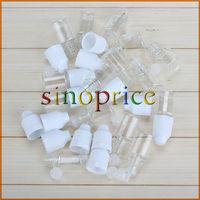 50PCS 5ml Transparent Empty Squeezable Lab Solvents Liquid Dropper Bottles Free Shipping