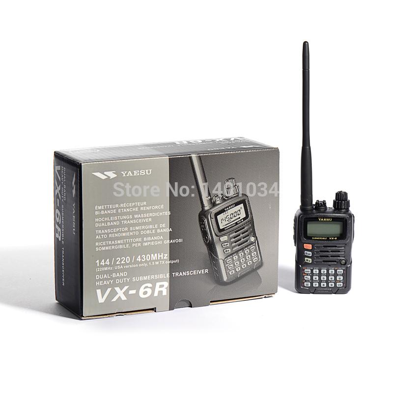 YAESU VX-6R Triple Band Handheld Transceiver(Hong Kong)