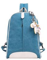 2015 new canvas backpack shoulder bag sport casual small fresh College Travel bags schoolbags bookbags mochila feminina