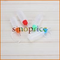 10x 20ml Plastic Empty Liquid Dropper Squeezable Dispense Bottle Eye Needle Cap  Free Shipping