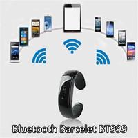 U Watch Smartwatch BT999 Bracelet Wrist fashion Smart Bluetooth Watch for Phone partner Hands Free Call MP3 Multi-Languages