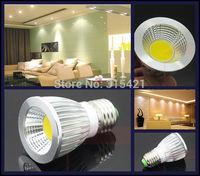 300Pcs/lot 7W COB LED Lights Spotlight E27 Bulb Lamp AC85-265V Support Dimmable Warm White/Cool White L23