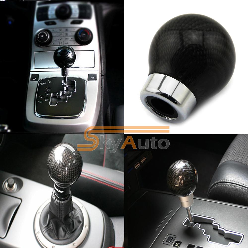 3 Days USA Location Shipping! 1 PC New 2015 Universal Carbon Fiber Car Gear Shift Knob, 4 Speed/ 5 Speed/ 6 Speed Car Gear Stick(China (Mainland))