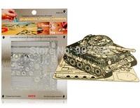 Tiger Tank DIY 3D Laser Cut Models Puzzle free shipping