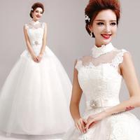 New 2015 vestido de noiva fashion women High-quality Sexy princess dress bridal gown princess wedding dress 9290 zyy