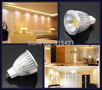 100Pcs/lot New Utra bright LED COB spotlight Bulb DC12V MR16 light 7W LED lamp Warm white/Cool white L25